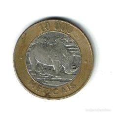 Monedas antiguas de África: MOZAMBIQUE 10000 METICAIS 2003. Lote 224573261