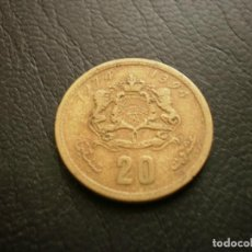 Monete antiche di Africa: MARRUECOS 20 SANTIMAT 1974. Lote 226507135
