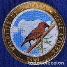 Monedas antiguas de África: SOMALIA 1998 WILDLIFE 6 MONEDAS 250 SHILLINGS. Lote 206243562