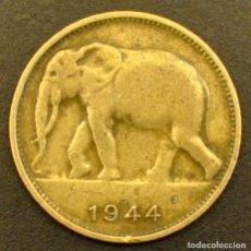 Monete antiche di Africa: CONGO BELGA, 1 FRANCO 1944. Lote 232663840