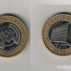 Monete antiche di Africa: MONEDA MOZAMBIQUE 10 DEZ METICAIS 2006 BIMETALICA USADA. Lote 208019661