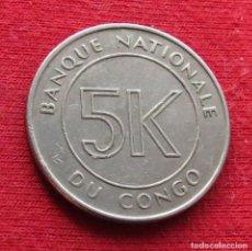 Monete antiche di Africa: CONGO 5 MAKUTA 1967. Lote 232904860