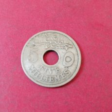Monedas antiguas de África: 5 MILLIEMES DE EGIPTO 1917. Lote 233804690