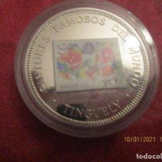 Monedas antiguas de África: GUINEA ECUATORIAL. 1000 FRANCOS. 1995. COOPPER NICKEL. 28,8 GRAMOS. (TINGUELY) EN CAPSULA. Lote 234130735