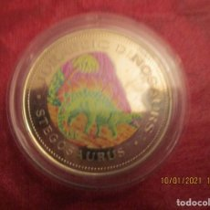 Monedas antiguas de África: GUINEA ECUATORIAL. 1000 FRANCOS. 1993. COOPPER NICKEL. 28 GRAMOS. (JURASSIC) EN CAPSULA. Lote 234131195