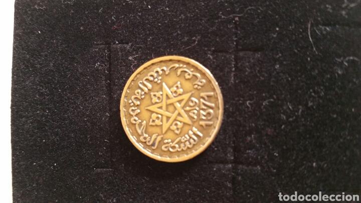 MONEDA DE DIEZ FRANCOS DE MARRUECOS- ................1952 - 1371. (Numismática - Extranjeras - África)
