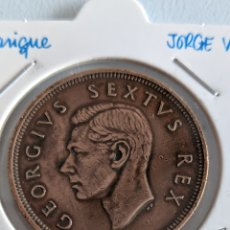 Monete antiche di Africa: MONEDA DE SUDÁFRICA. PENIQUE 1949. JORGE VI. KM#34.1. Lote 234799790