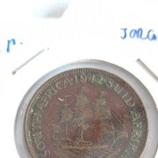 Monete antiche di Africa: MONEDA DE SUDÁFRICA. 1/2 PENIQUE 1942. KM#24.. Lote 234799940