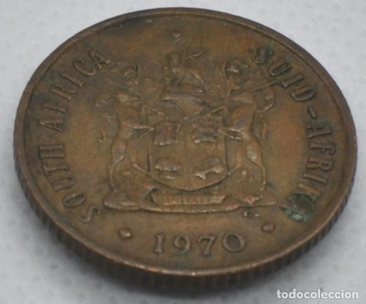 SUDÁFRICA, 2 CENTAVOS 1970 (Numismática - Extranjeras - África)