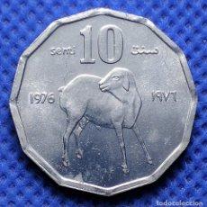 Monnaies anciennes d'Afrique: SOMALIA 10 SENTI 1976 S/C. Lote 234915105