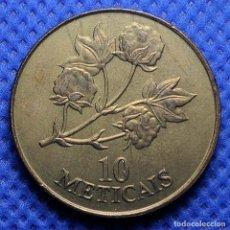 Monnaies anciennes d'Afrique: MOZAMBIQUE 10 METICALES 1994 SIN CIRCULAR. Lote 234917760