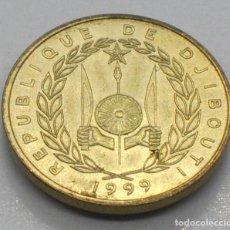 Monnaies anciennes d'Afrique: DJIBOUTI, 10 FRANCOS 1999. Lote 235555090