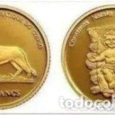 Monedas antiguas de África: MONEDA DE ORO CONGO, REPÚBLICA DEMOCRÁTICA (KINSHASA) 20 FRANCS Z.J. CHRISTMAS - MONEDA ORO. Lote 235634490