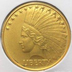 Monedas antiguas de África: LIBERIA 100 DÓLARES 2000 LIBERTY CONMEMORATIVA. Lote 235679770