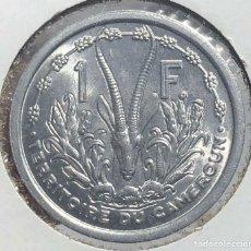 Monedas antiguas de África: CAMERÚN CAMEROON KM8. 1 FRANCO 1949 UNC SC COLONIAL FRANCESA. Lote 235684130