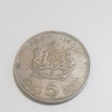 Monedas antiguas de África: MONEDA 5 DIRHAM. Lote 235838195