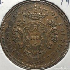Monedas antiguas de África: AZORES PORTUGAL KM17. 10 REÍS 1901 EXCELENTE CONDICIÓN. Lote 235927190
