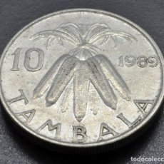 Monnaies anciennes d'Afrique: MALAWI, 10 TÁMBALA 1989. Lote 236856700