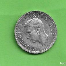 Monedas antiguas de África: PLATA-SUDAFRICA. 5 CHELINES 1952. 28,28 GRAMOS DE LEY 0,500. KM#41. Lote 237011285