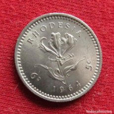 Monete antiche di Africa: RHODESIA 5 CENT 1964 RODESIA. Lote 237582380