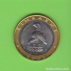 Monedas antiguas de África: MONEDAS EXTRANJERAS - ZIMBABWE - 5 DOLLARS 2002 BIMETALICA - KM-13 (SC). Lote 238152670