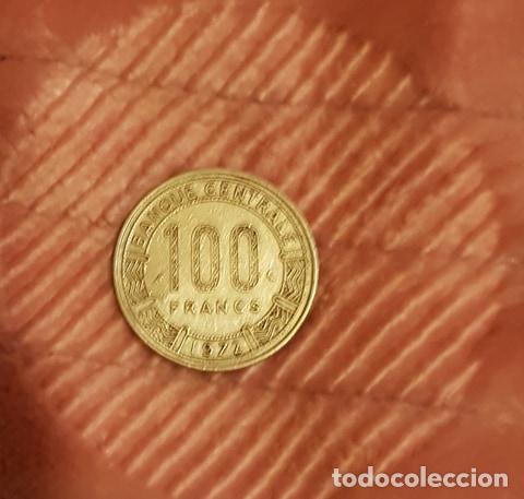 MONEDA DE 100 FRANCOS DE GABON DEL 72 (Numismática - Extranjeras - África)