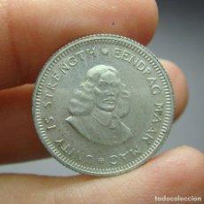 Monedas antiguas de África: 5 CÉNTIMOS (5 CENTS). PLATA. SOUTH AFRIKA - 1961. SC. Lote 242488740