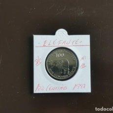 Monedas antiguas de África: ERITREA 100 CENTIMOS 1997(ELEFANTE) S/C KM=48. Lote 261996225