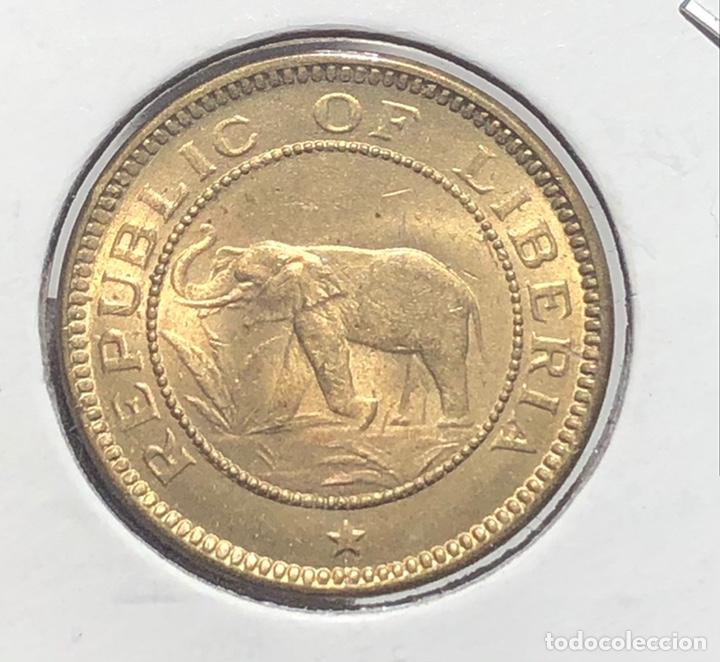 LIBERIA KM10. 1/2 CENTAVO 1937 UNC BU (Numismática - Extranjeras - África)