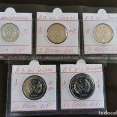 Monedas antiguas de África: SAHARA R.D. 1,5,10,20 Y 50 PESETAS 2020. Lote 244866885