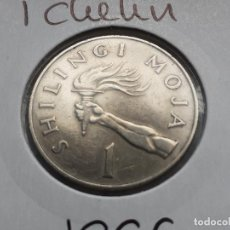 Monedas antiguas de África: TANZANIA 1 CHELIN/SHILLING 1966. Lote 245194360