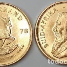 Monedas antiguas de África: MONEDA 1 ONZA DE ORO 22 K KRUGERRAND SUDÁFRICA 1979. Lote 245394575