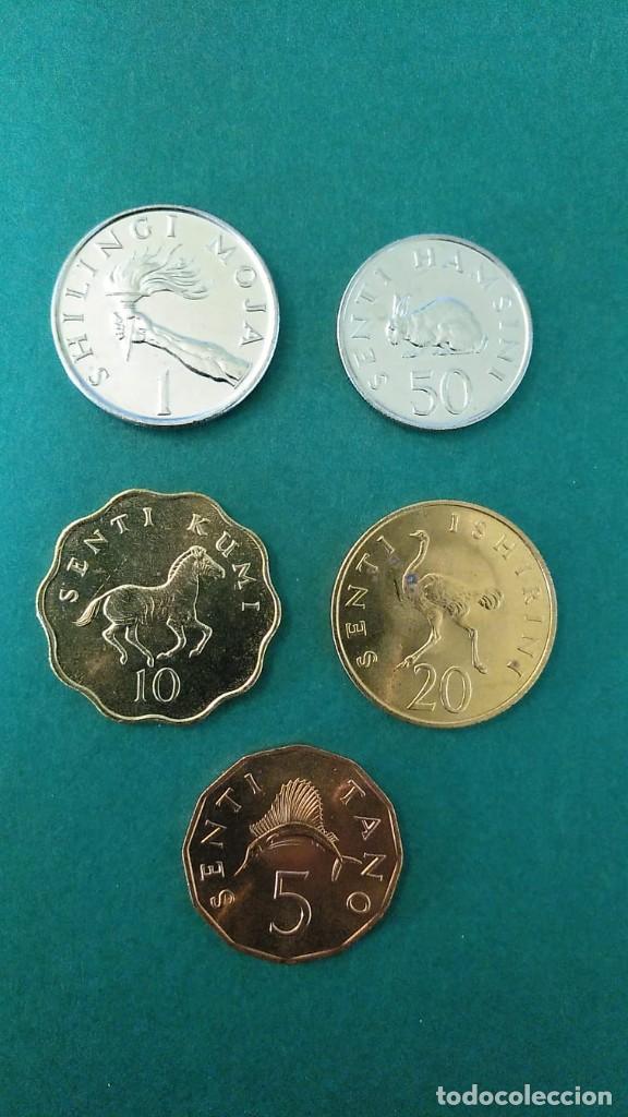Monedas antiguas de África: TANZANIA-LOTE 5 MONEDAS-SC - Foto 2 - 245963980