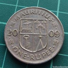 Monedas antiguas de África: ISLA MAURICIO 1 RUPIA 2009. Lote 247139890