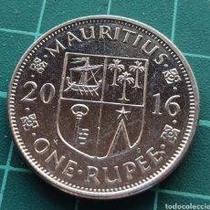 Monedas antiguas de África: ISLA MAURICIO 1 RUPIA 2016. Lote 247140085