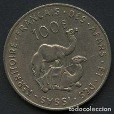 Monedas antiguas de África: FRANCIA, COLONIAS, MONEDA, FRENCH AFARS & ISSAS, VALOR: 100 FRANCS, 1975. Lote 247722360