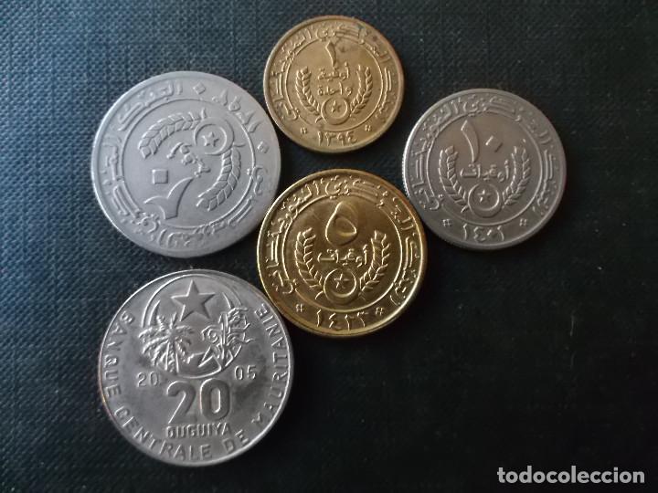Monedas antiguas de África: conjunto de 5 monedas de Mauritania dificiles - Foto 2 - 220577696