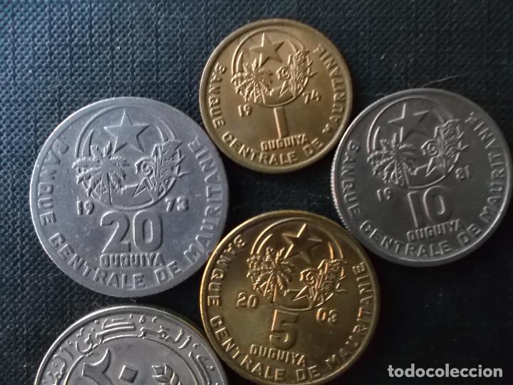 Monedas antiguas de África: conjunto de 5 monedas de Mauritania dificiles - Foto 3 - 220577696