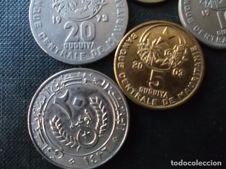 Monedas antiguas de África: conjunto de 5 monedas de Mauritania dificiles - Foto 4 - 220577696