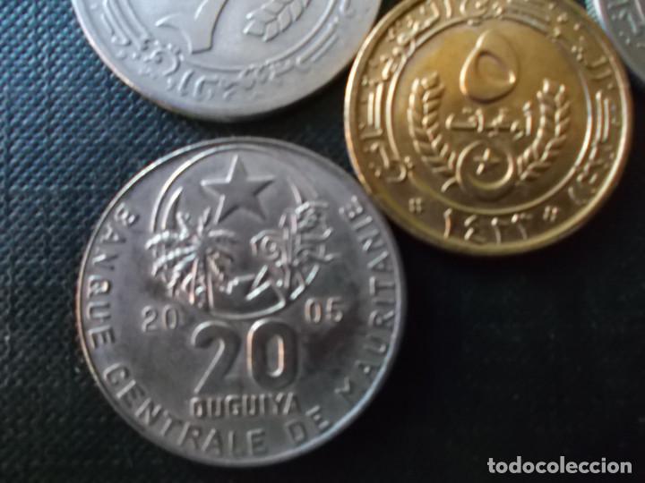 Monedas antiguas de África: conjunto de 5 monedas de Mauritania dificiles - Foto 6 - 220577696