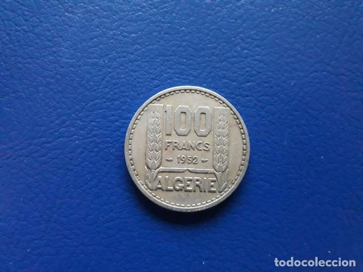 Monedas antiguas de África: 100 Francos. 1952. Argelia. Moneda Colonia Francesa - Foto 2 - 253907485