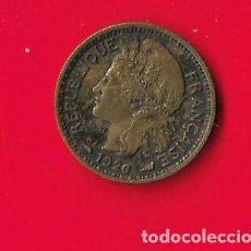 Monnaies anciennes d'Afrique: CAMERUN 50 CENTIMOS 1926, ESCASA. Lote 254288505