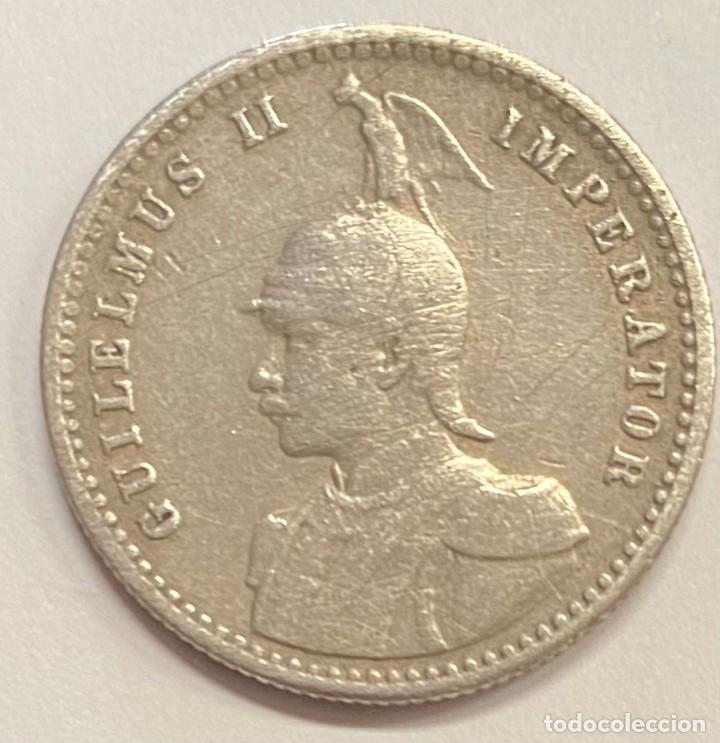 AFRICA OCCIDENTAL ALEMANA, MONEDA DE 1/4 DE RUPIA DEL AÑO 1912 (Numismática - Extranjeras - África)