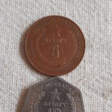 Monedas antiguas de África: (MADAGASCAR) LOTE DE MONEDAS. Lote 254566705