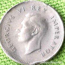 Monedas antiguas de África: SUDAFRICA MONEDA DE PLATA 3 PENIQUES 1941. Lote 255285955