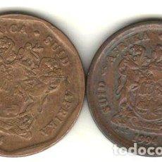 Monedas antiguas de África: SUDAFRICA LOTE 2 MONEDAS DIFERENTES DEL ANO 1994. Lote 255292785
