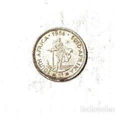 Monedas antiguas de África: SUD AFRICA 1 SHILLING PLATA 1956 56 GR. Lote 255297910