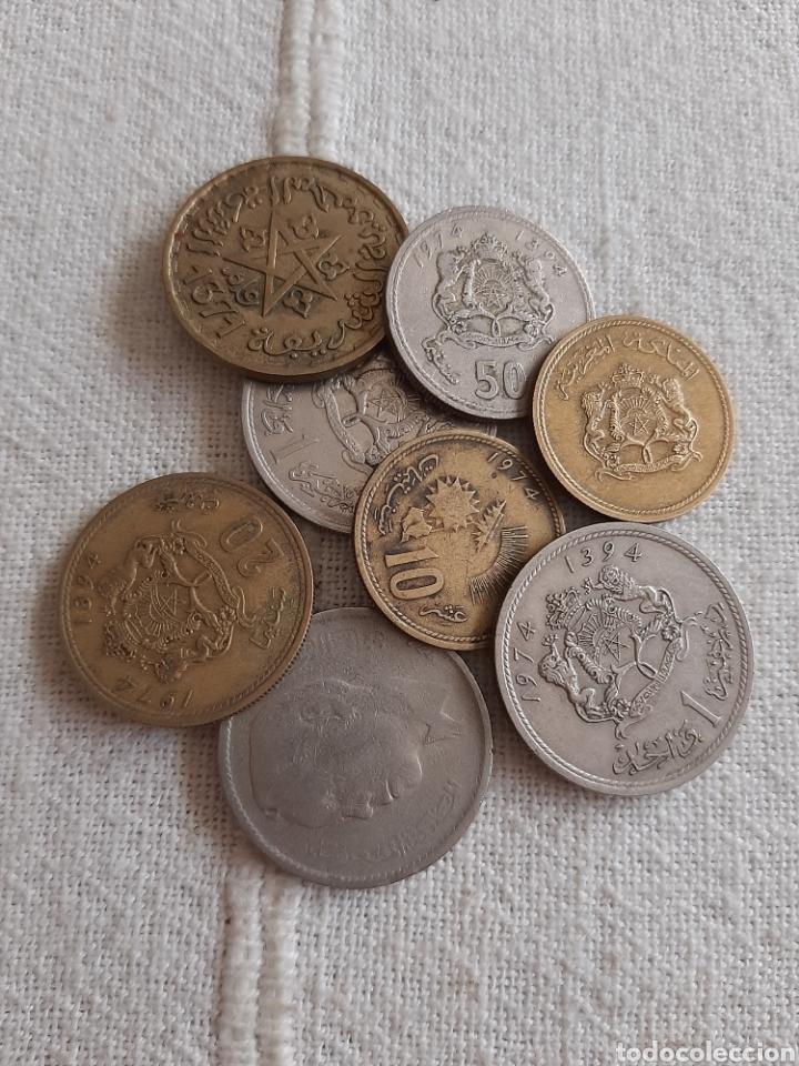 Monedas antiguas de África: (MARRUECOS) LOTE DE MONEDAS - Foto 2 - 255492390