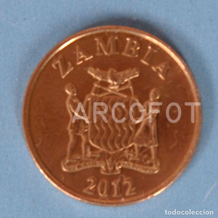 Monedas antiguas de África: MONEDA ZAMBIA DE 50 NGWEE 2012 - FIFTY NGWEE - LA DE LA FOTO - Foto 3 - 255984690