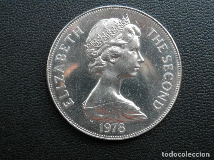 Monedas antiguas de África: ISLA DE ASCENSIÓN 1 CROWN AÑO 1978 CONMEMORATIVA, CONSERVACIÓN = SC. LA MONEDA NO HA CIRCULADO - Foto 2 - 256010245